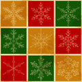 Snow fake pattern christmas seamless holidays background Royalty Free Stock Image