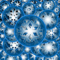 Snow-Flake Royalty Free Stock Images