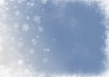 Snow flake christmas background abstract Stock Photos