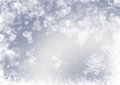 Snow flake christmas background flakes Royalty Free Stock Photography