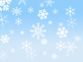 Snow flake design Royalty Free Stock Photo