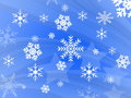 Snow flake design Stock Photo