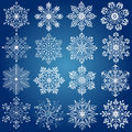 Snow flake illustration drawing of Stock Photos