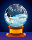 Snow globe. Royalty Free Stock Photography