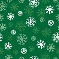 Snow green pattern white and dark background patern for texture on a winter theme Royalty Free Stock Photography
