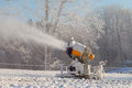 Snow gun. Royalty Free Stock Photography