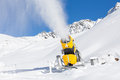 Snow Gun In The Mountains