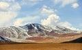 Snow mountain in Tibet Stock Image