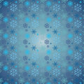 Snow pattern snowflakes christmas vector icons flake collection graphic art Stock Image