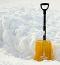 Snow shovel II Royalty Free Stock Photos