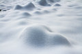 The snow special shape of Royalty Free Stock Photography