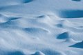 Snow surface Royalty Free Stock Images