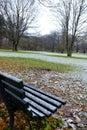 Snow at Tiergarten, Berlin Stock Images