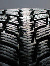Snow tyre Royalty Free Stock Photo