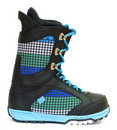 Snowboarding boot Royalty Free Stock Image