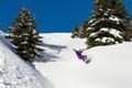 Snowboarding fun Royalty Free Stock Photo