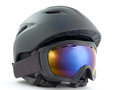 Snowboarding helmet Royalty Free Stock Photos