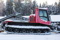 A Snowcat Royalty Free Stock Photo