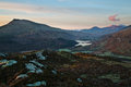Snowdon dawn welsh yr wyddfa pronounced əɾ ˈwɨ̞ðva is the highest mountain in wales at an elevation of metres ft above sea Stock Photos