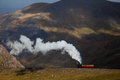Snowdon Steam Train Stock Photo