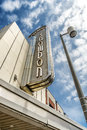 Snowdon theatre the is a former streamline moderne cinema in montreal quebec canada located on décarie boulevard in the Stock Image