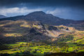 Snowdonia national park wales beautiful countryside scenery in Royalty Free Stock Image