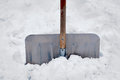 Snowe shovel Royalty Free Stock Image