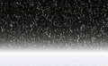 Snowfall on a night sky backgrounds Royalty Free Stock Image