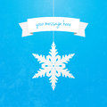 Snowflake Banner Stock Photos