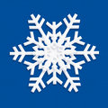 Snowflake blue icon color you can use this material to create images for post card or background or wallpaper or web icon and more Stock Photography