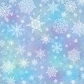 Snowflake On Blur Background.W...