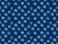 Snowflake drown background Stock Photo