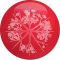 Snowflake globe Stock Photography
