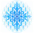 Snowflake illustration Royalty Free Stock Image