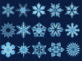 Snowflake Illustrations Stock Image