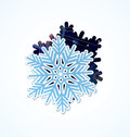 Snowflake magic vector Royalty Free Stock Photo