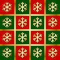 Snowflake pattern Stock Photography