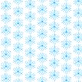 Snowflake pattern ice blue snowflakes form a for the holidays Royalty Free Stock Photos