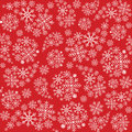 Snowflake seamless pattern. Snowflakes background. Christmas pattern. Vector illustration