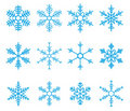 Snowflake Vector Royalty Free Stock Photo