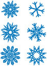 Snowflakes 01 Royalty Free Stock Photo