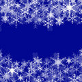 Snowflakes. Royalty Free Stock Image