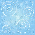 Snowflakes background Royalty Free Stock Images