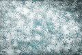 Snowflakes background for christmas snowflake pattern made ​​of icing sugar on wooden table top view Royalty Free Stock Image