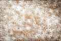 Snowflakes background winter with for christmas snowflake pattern made of icing sugar on wooden table top view Royalty Free Stock Photo