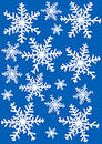 Snowflakes Illustration Stock Photo