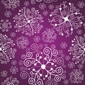 Snowflakes ornament Royalty Free Stock Photography