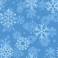 Snowflakes pattern Royalty Free Stock Photography