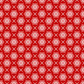 Snowflakes seamlessly pattern. Royalty Free Stock Photo