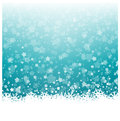 Snowflakes and Stars Christmas Background Royalty Free Stock Photo